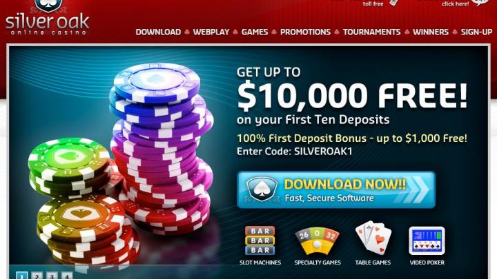 SilverOakCasino.com Casino Review